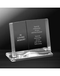 Crystal Glass In Loving Memory